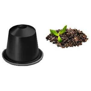 Produzione The Verde alla Menta Compatibili Nespresso