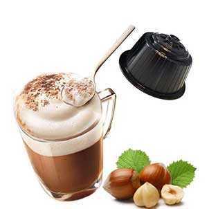 Produzione Cappuccino Nocciola compatibili Dolce Gusto