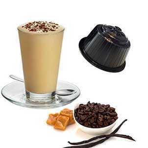 Produzione Cappuccino Vaniglia compatibili Dolce Gusto